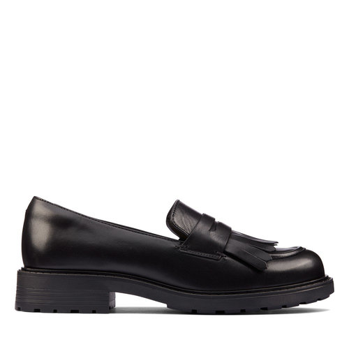 Clarks Orinoco2Loafer - Brogues & Loafers - BLACK