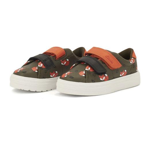 Clarks Nova Early T - Sneakers - KHAKI