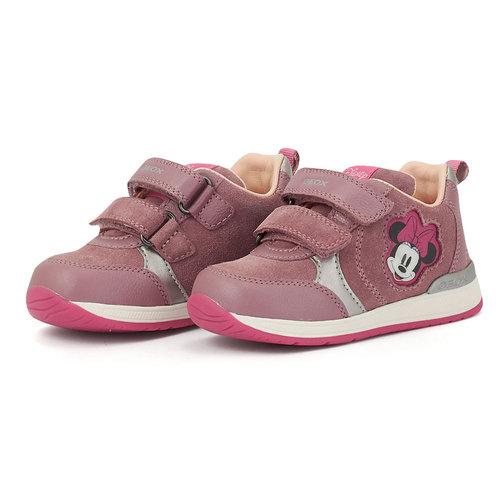 Geox B Rishon G. B - Sneakers - ROSE SMOKE