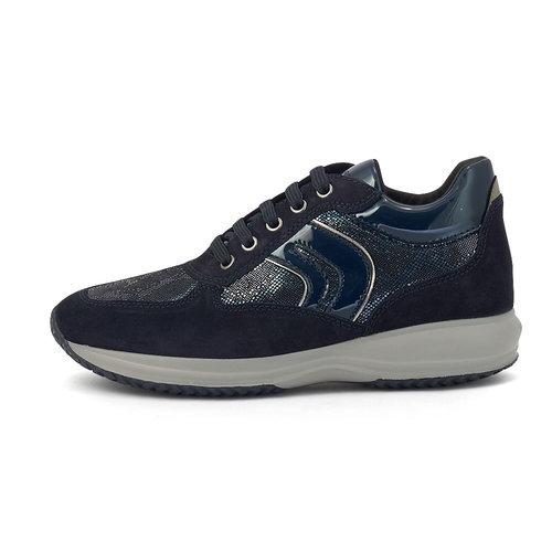 Geox D Happy B - Sneakers - BLUE/NAVY