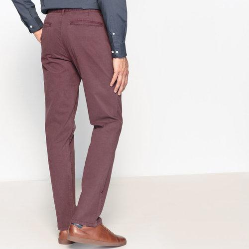 Παντελόνι chino σε ίσια γραμμή - Παντελόνια - ΔΑΜΑΣΚΗΝΙ
