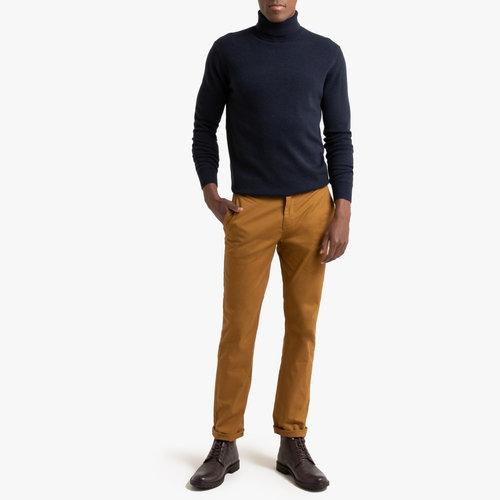 Παντελόνι chino σε ίσια γραμμή - Παντελόνια - ΣΑΦΡΑΝ