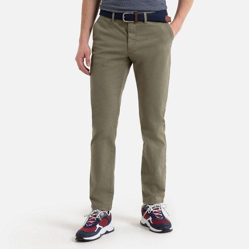 Παντελόνι chino σε ίσια γραμμή - Παντελόνια - ΑΝΟΙΧΤΟ ΓΚΡΙ ΧΑΚΙ
