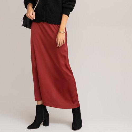 Μακριά εβαζέ φούστα - Φούστες - ΜΠΟΡΝΤΟ ΚΟΚΚΙΝΟ