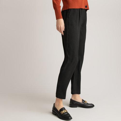 Παντελόνι με λάστιχο - Παντελόνια - ΜΑΥΡΟ