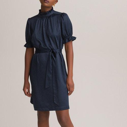 Κοντό φόρεμα - Φορέματα - ΣΚΟΥΡΟ ΜΠΛΕ