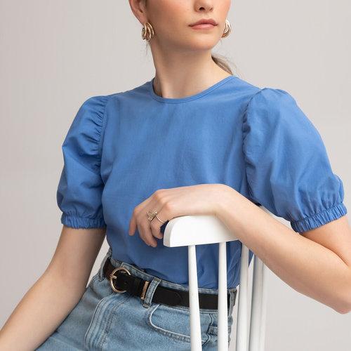 Κοντομάνικη μπλούζα - Μπλούζες & Πουκάμισα - ΙΝΤΙΓΚΟ ΜΠΛΕ