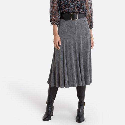 Εβαζέ φούστα - Φούστες - ΓΚΡΙ_ΣΚΟΥΡΟ