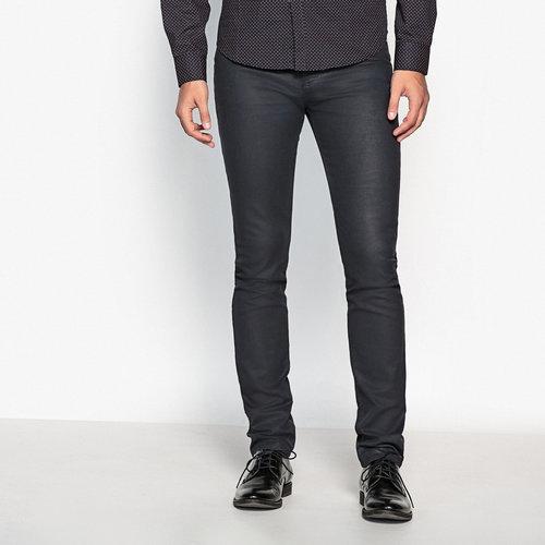 Τζιν με Slim γραμμή - Παντελόνια - COATED UNTREATED BLUE