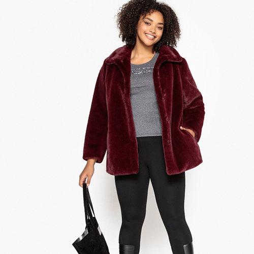 Παλτό με συνθετική γούνα - Πανωφόρια - ΜΠΟΡΝΤΟ