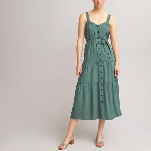 Μακρύ φόρεμα - Φορέματα - ΓΚΡΙ-ΜΠΛΕ