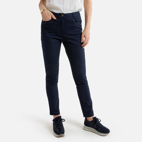 Ίσιο παντελόνι - ΓΥΝΑΙΚΑ - ΝΑΥΤΙΚΟ_ΜΠΛΕ