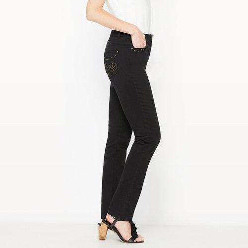Ίσιο παντελόνι - ΓΥΝΑΙΚΑ - ΜΑΥΡΟ