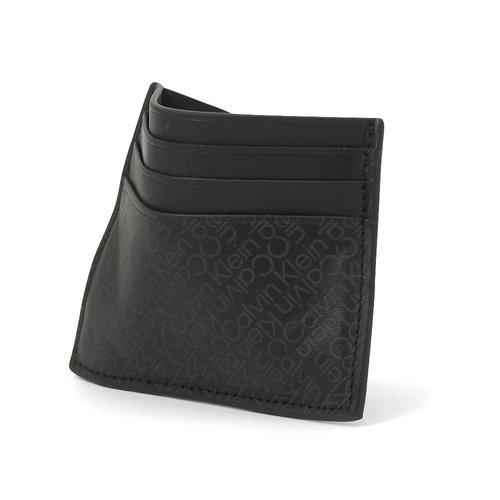 Calvin Klein - Πορτοφόλια - BLACK ZIG ZAG