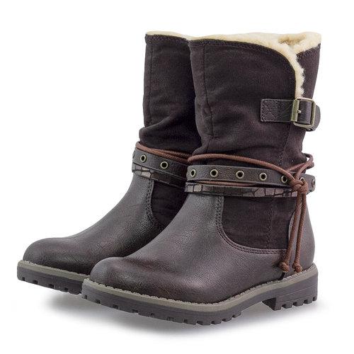 Sprox - Μπότες - DARK BROWN