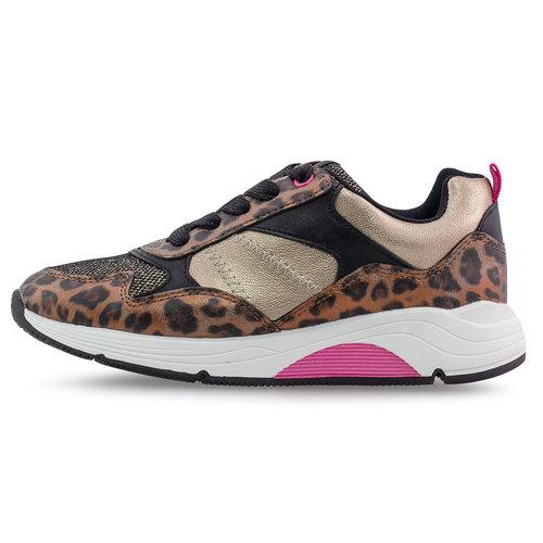 Sprox - Sneakers - BRONZE/FUCHSIA