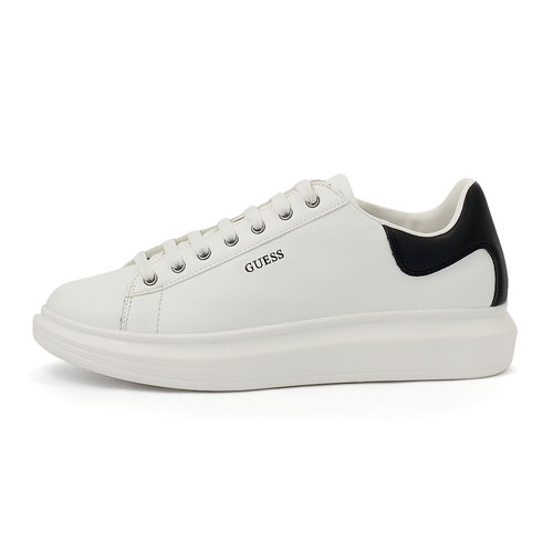 Guess Salerno - Sneakers - WHITE/BLACK
