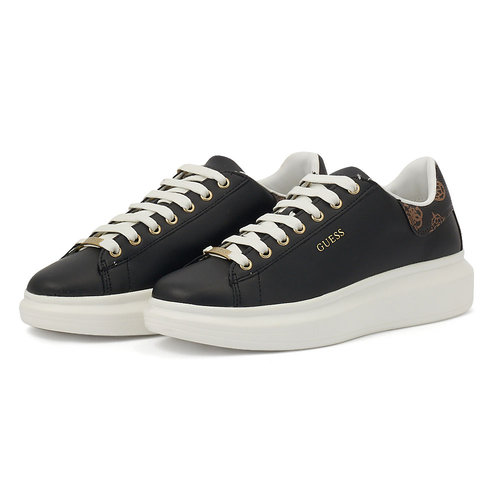 Guess Salerno - Sneakers - BLACK BRASS