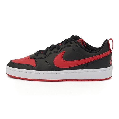 Nike Court Borough Low 2 - Αθλητικά - BLACK/UNIVERSITY RED
