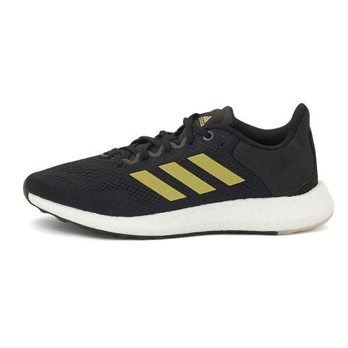 adidas Pureboost 21 W - Αθλητικά - CORE BLACK/GOLD MET.
