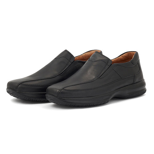 Boxer - Brogues & Loafers - ΜΑΥΡΟ