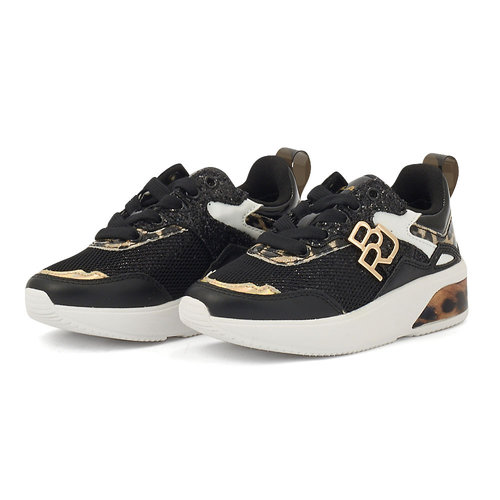 Replay - Sneakers - BLACK/GOLD