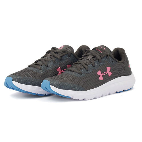Under Armour GS Surge 2 - Αθλητικά - JET GRAY/WHITE