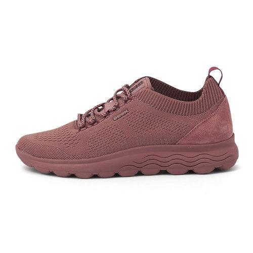 Geox D Spherica A - Sneakers - OLD ROSE