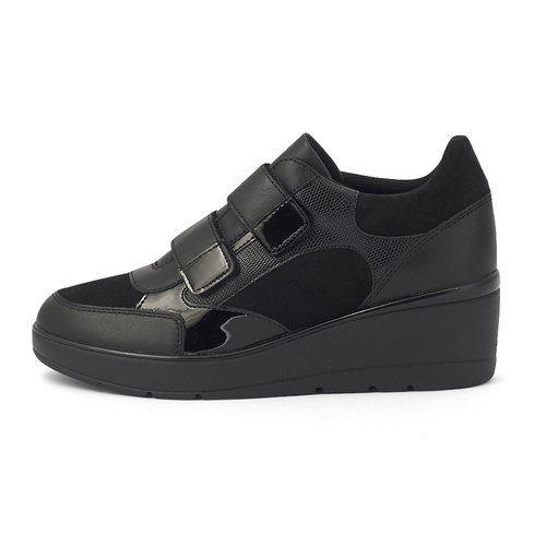 Geox D Ilde C - Sneakers - BLACK