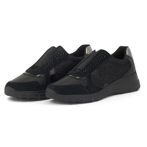 Geox D Alleniee D - Sneakers - BLACK
