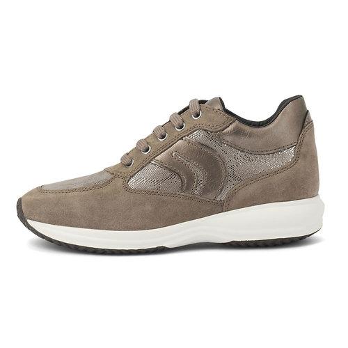 Geox D Happy B - Sneakers - DARK BEIGE