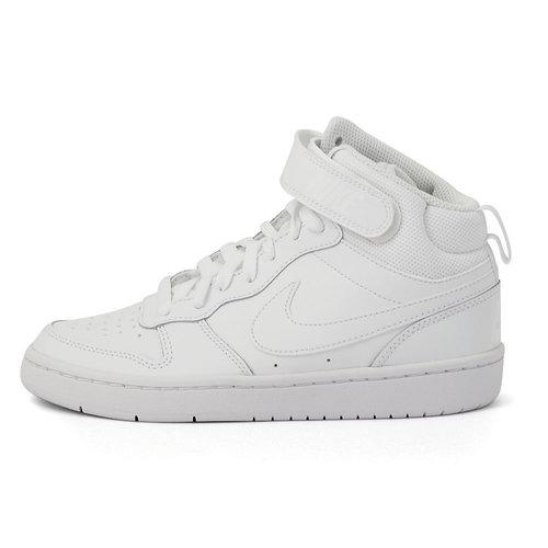 Nike Court Borough Mid 2 - Αθλητικά - WHITE/WHITE