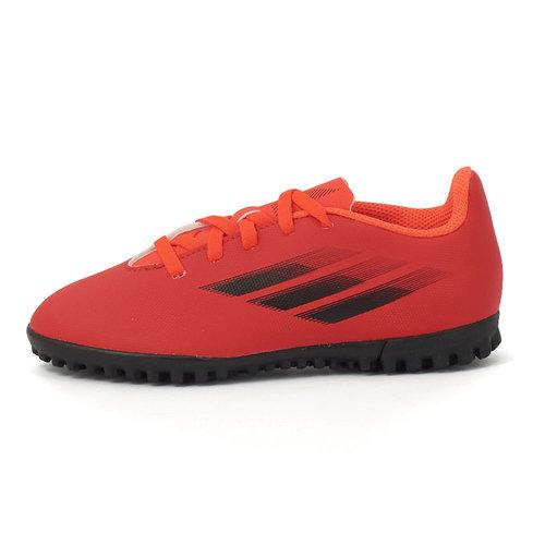 adidas X Speedflow.4 Tf J - Αθλητικά - RED/CORE BLACK