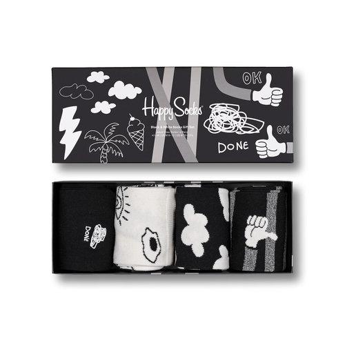 Happy Socks 4-Pack - Κάλτσες - ΔΙΑΦΟΡΑ ΧΡΩΜΑΤΑ