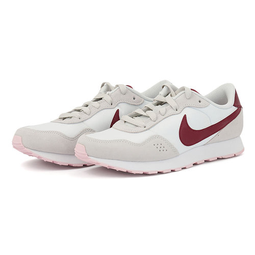 Nike MD Valiant - Αθλητικά - WHITE/DARK BEETROOT