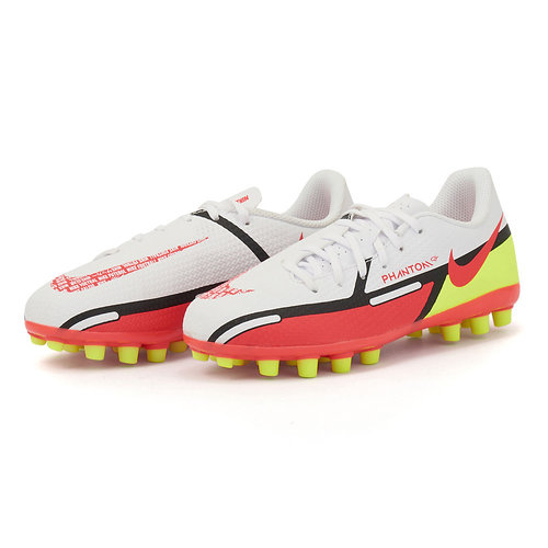 Nike Jr. Phantom GT2 Academy - Αθλητικά - WHITE/BRIGHT CRIMSON