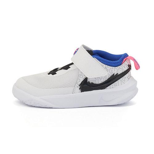 Nike Team Hustle D 10 - Αθλητικά - WHITE/BLACK