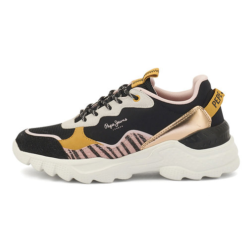 Pepe Jeans Ecless - Sneakers - NBK/FUX/WH