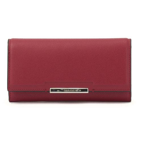 Calvin Klein - Πορτοφόλια - RED CURRANT