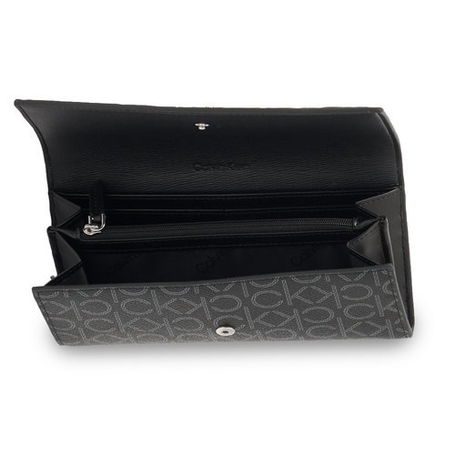 Calvin Klein - Πορτοφόλια - BLACK MONO