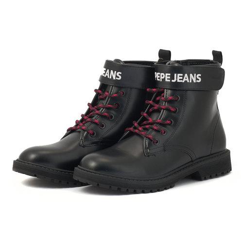 Pepe Jeans Hatton Strap - Μποτάκια - NBK/FUX/WH