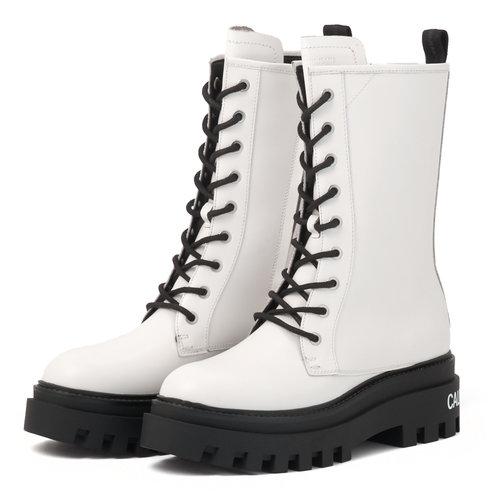 Calvin Klein - Μποτάκια - BRIGHT WHITE