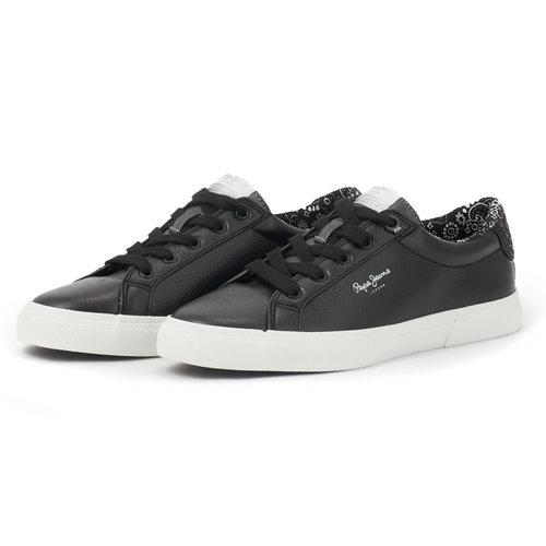 Pepe Jeans Kenton Plain - Sneakers - NBK/FUX/WH