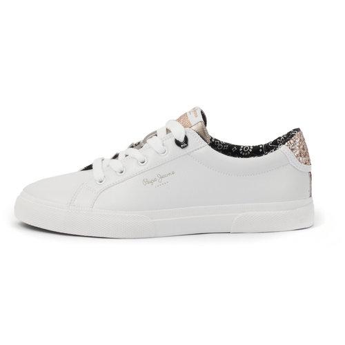Pepe Jeans Kenton Plain - Sneakers - WHITE