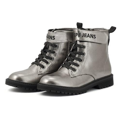 Pepe Jeans Hatton Strap - Μποτάκια - SILVER