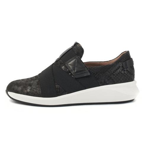 Clarks Un Rio Strap - Sneakers - BLACK
