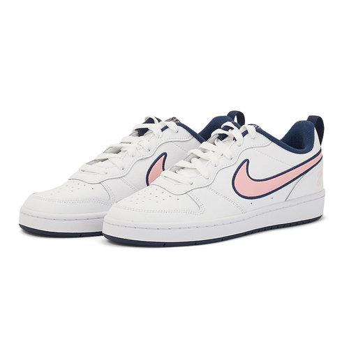 Nike Court Borough Low 2 SE - Αθλητικά - WHITE/PINK GLAZE