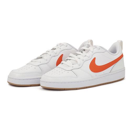 Nike Court Borough Low 2 - Αθλητικά - WHITE/ORANGE