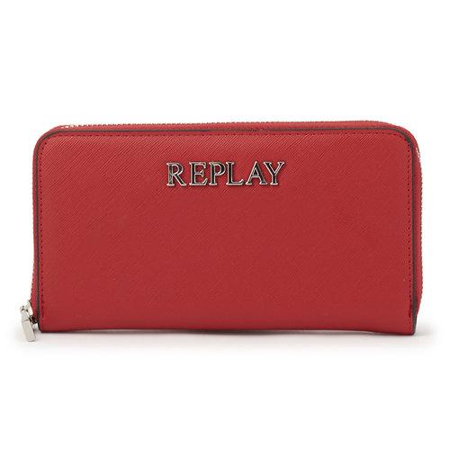 Replay - Πορτοφόλια - RED/MAPLE