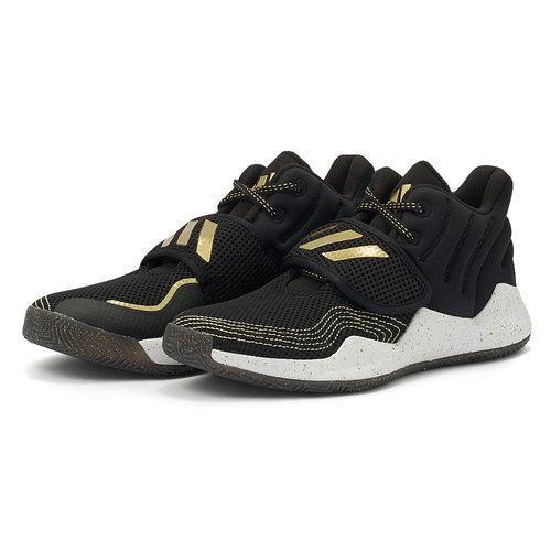 adidas Deep Threat Primeblue J - Αθλητικά - CORE BLACK/GOLD MET.